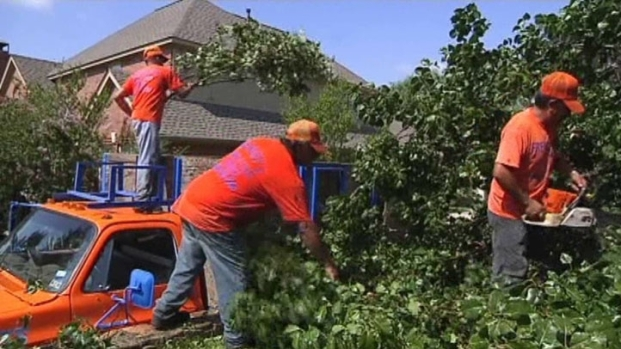 [DFW] Storm Cleanup in Lantana