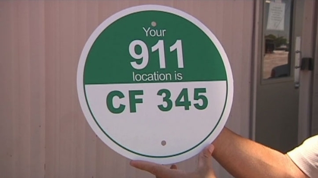 [DFW] 911 Signs Installed Along Trinity Trails
