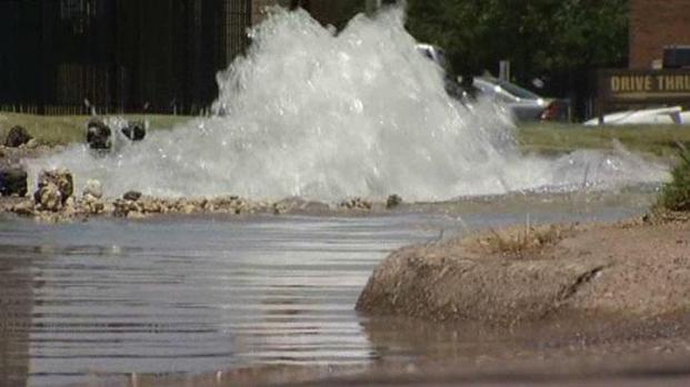 [DFW] Water Main Breaks Attributed to Heat