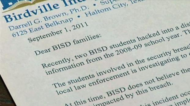 [DFW] Birdville ISD Security Breach