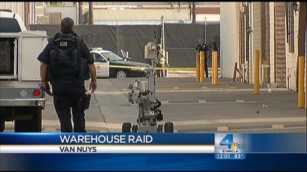 [LA] Police Bust Van Nuys Pot Farm