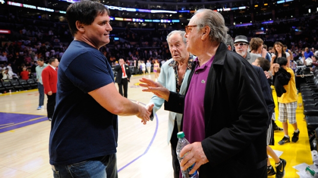 Celebs Watch Lakers Lose to Mavericks