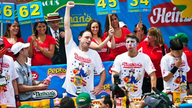 Nathan's Coney Island Hot Dog Eating Contest 2011