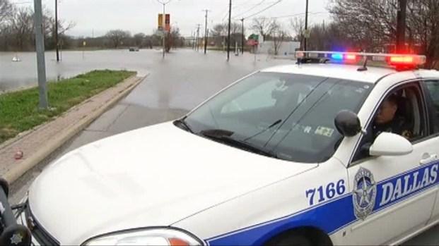 [DFW] Dallas Closes Roads After Heavy Rains