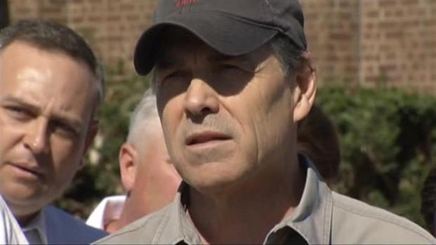 [DFW] Gov. Perry Discusses Tornado Damage