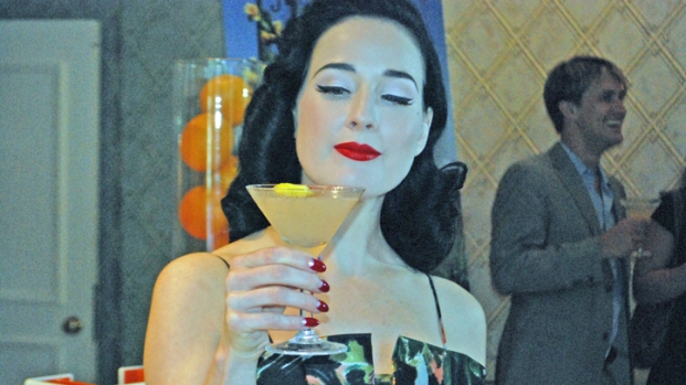 The Mansion + Dita Von Teese = Fun