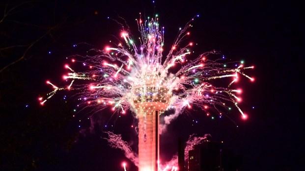 Lone Star NYE Fireworks Spectacular