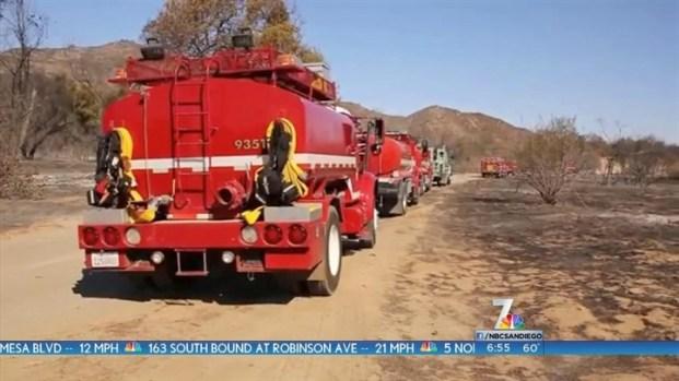 [DGO]Firefighters Make Progress on DeLuz Fire