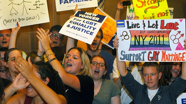 Photos: Gay Marriage a Reality in New York