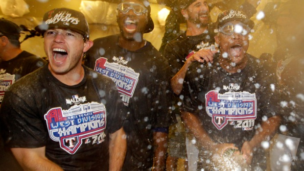 Texas Rangers Clinch AL West