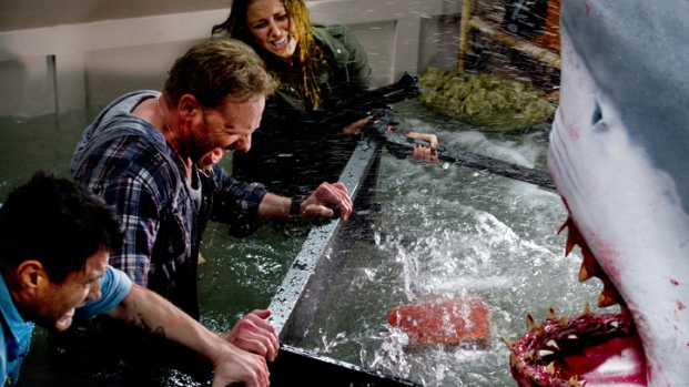 "[NATL] ""Sharknado"" Hits Theaters"