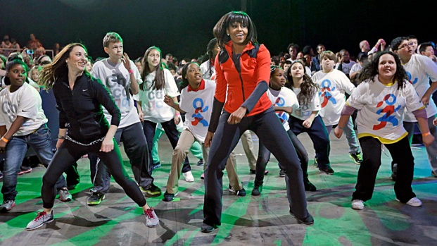 [CHI] First Lady Announces Effort To Help Kids Exercise
