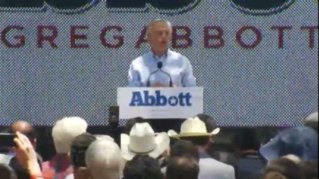 [DFW] Abbott Announces Gubernatorial Run