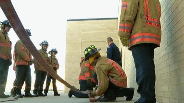 [DFW] Arlington Students Prepare for a Future as Firefighters