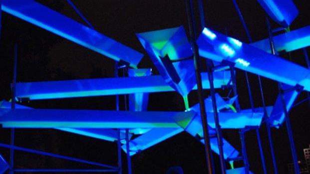 AURORA Illuminates Dallas Arts District