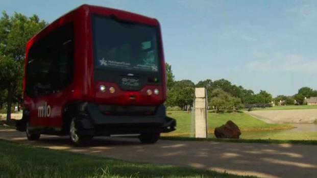 [DFW] Driverless Buses in Arlington
