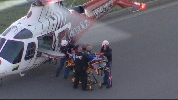 Photos: 4 Injured in Burleson Explosion