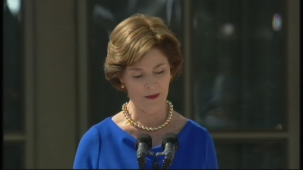 [DFW] Laura Bush at Bush Library