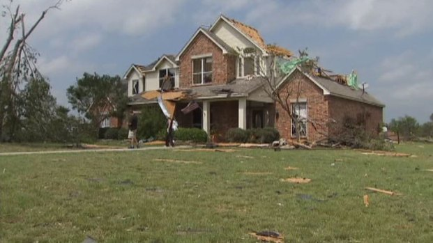 [DFW] Cleburne Resident Feels Lucky to Survive Tornado