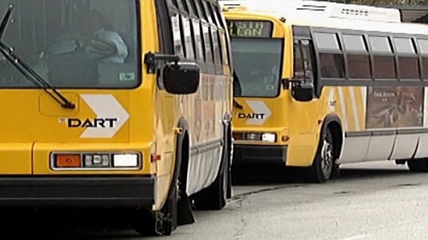 DART Reports Slight Delays After High Rise Fire