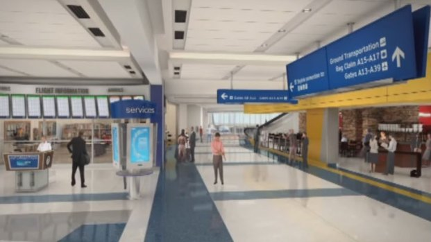 [DFW] Animation Shows DFW Airport Renovation