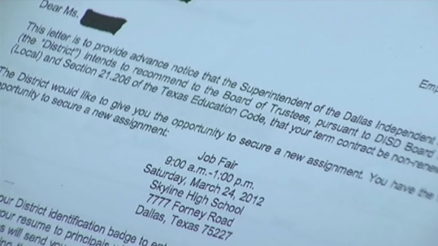 [DFW] Hundreds of DISD Teachers Face Non-Renewal