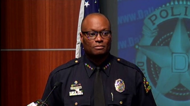 [DFW] DPD Chief David Brown Discusses Amtrak Shooting
