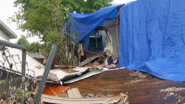 [DFW] Rain Causes Angst For Tornado Victims