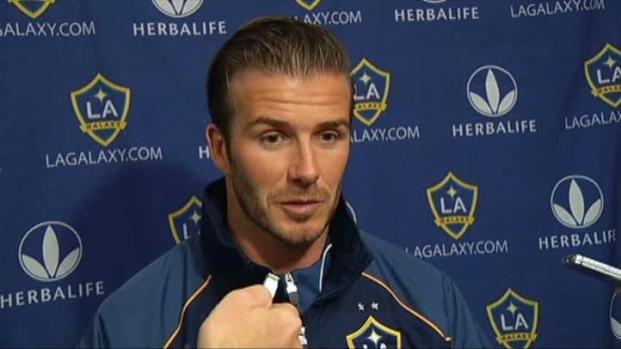 [DFW] David Beckham Talks About Royal Wedding