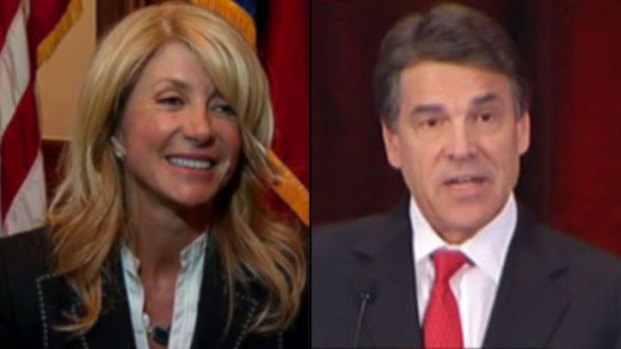 [DFW] Perry and Davis Clash in Texas Abortion Debate