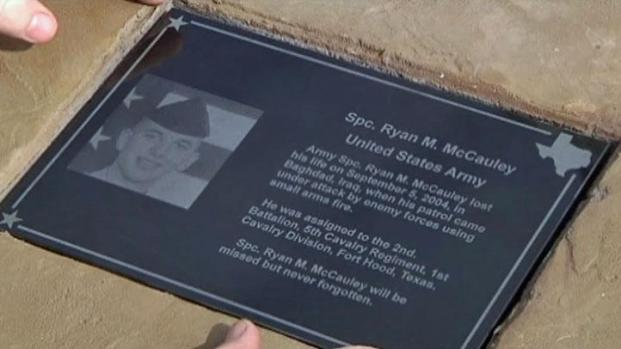 [DFW] Denton Builds Memorial for Fallen Soldiers