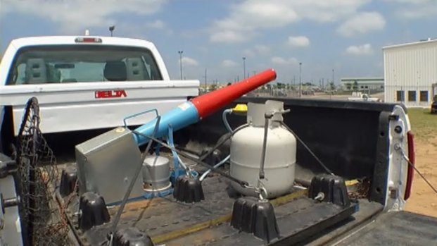 [DFW-good] Propane Cannons Used to Ward Off Egrets