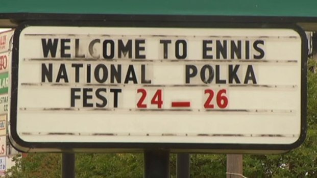 [DFW]  Ennis Polka Festival Plays On During Tornado Recovery