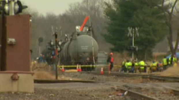 [PHI] Evacuations Extended After Train Derailment