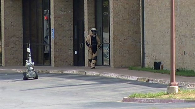 [DFW] Bomb Squad Blows Up Suspicious Package