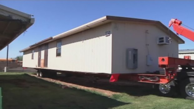 [DFW] GPISD Sends Portable Classrooms to West