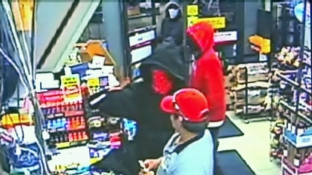 [DFW] Gas Station Robbers Caught on Camera