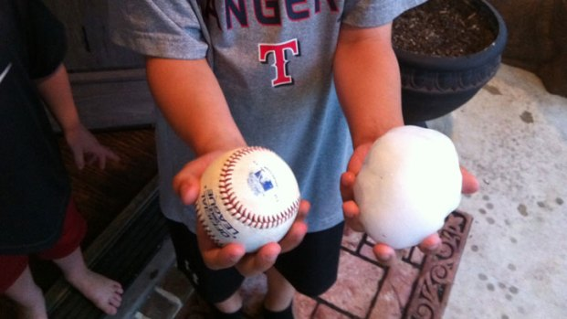 Your Hail Photos - April 3, 2012