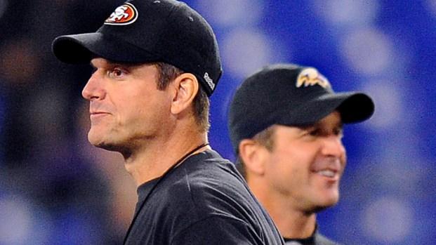 [AP] Harbaugh Brothers Talk Super Bowl Faceoff