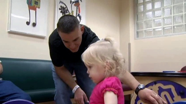 [DFW] Veteran Gives Piece of Himself to Daughter