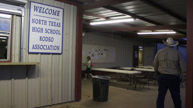 High School Rodeo Riders Mount Up