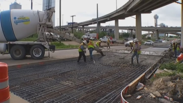[DFW] Works Wraps Up on Margaret Hunt Hill Bridge
