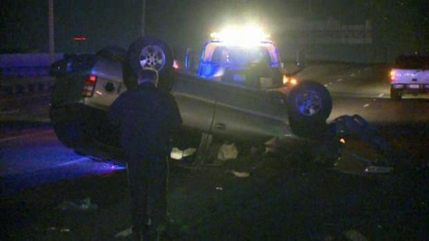 [DFW] Deadly Rollover Accident in Dallas