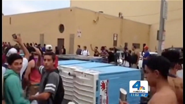[NATL-LA] Violence Erupts in LA After Surfing Competition