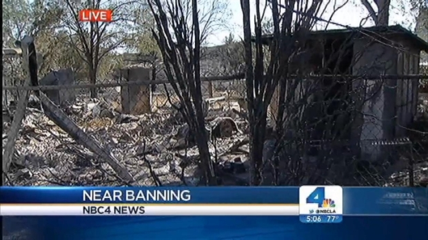 [LA] Some Silver Fire Evacuations Lifted, But Damage Is Done