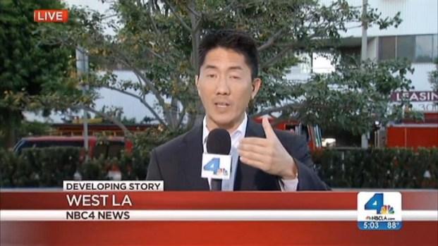 [LA] Investigation into Apartment Fire In West LA Begins