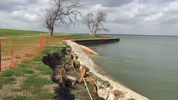 [DFW] Seawall Failure at Lake Ray Hubbard