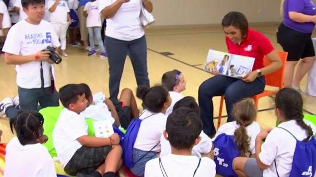 NBC 5/Telemundo 39 Encourage Students to Read This Summer