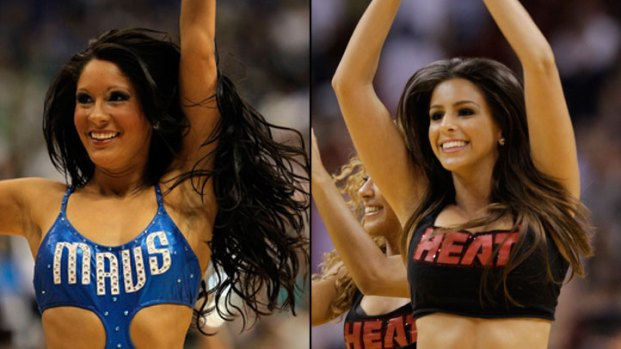 Who's Hotter? Mavs or Heat Dancers?