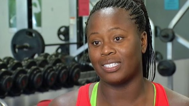 [DFW] Michelle Carter Ready for the Olympics